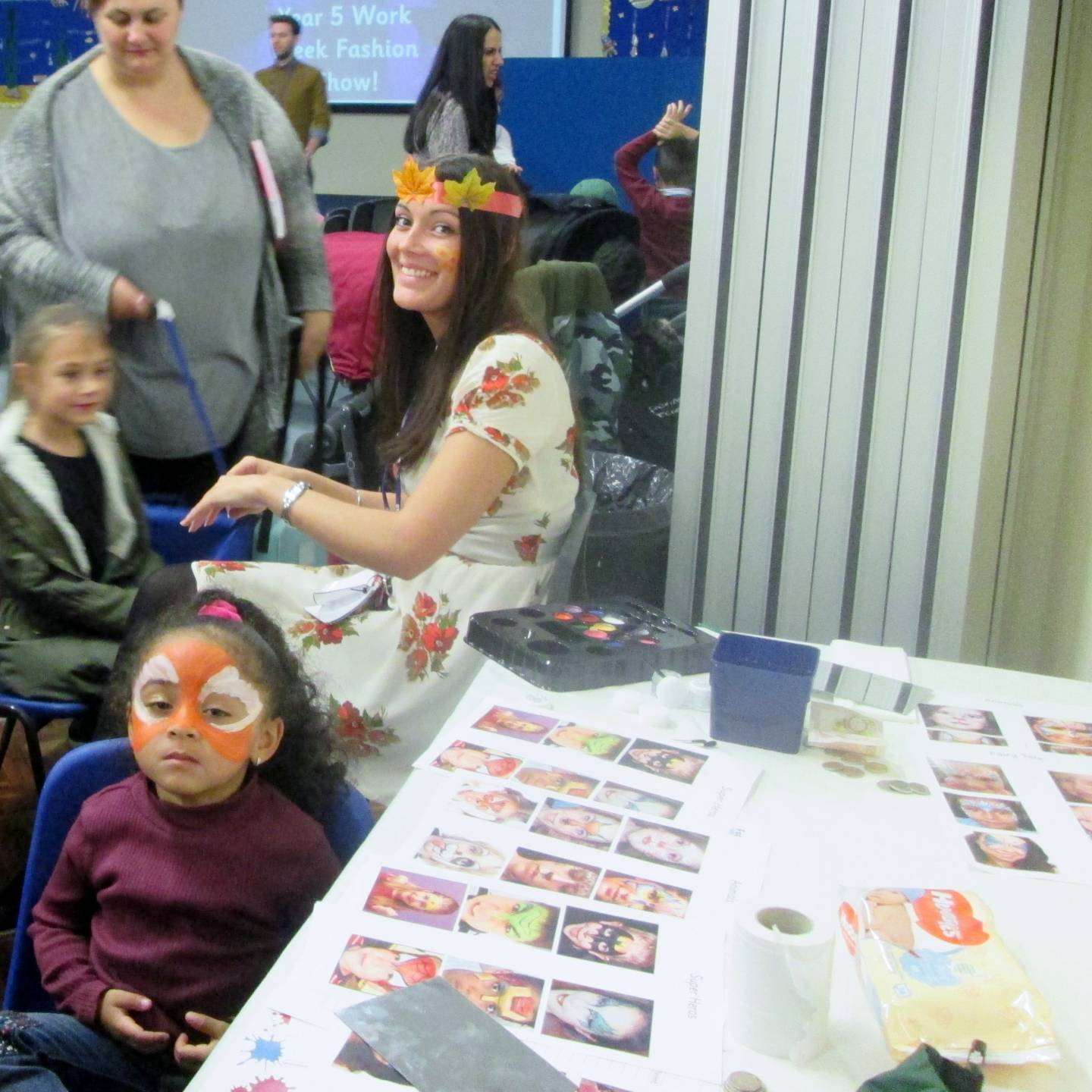 Ms Lawrence Face Painting