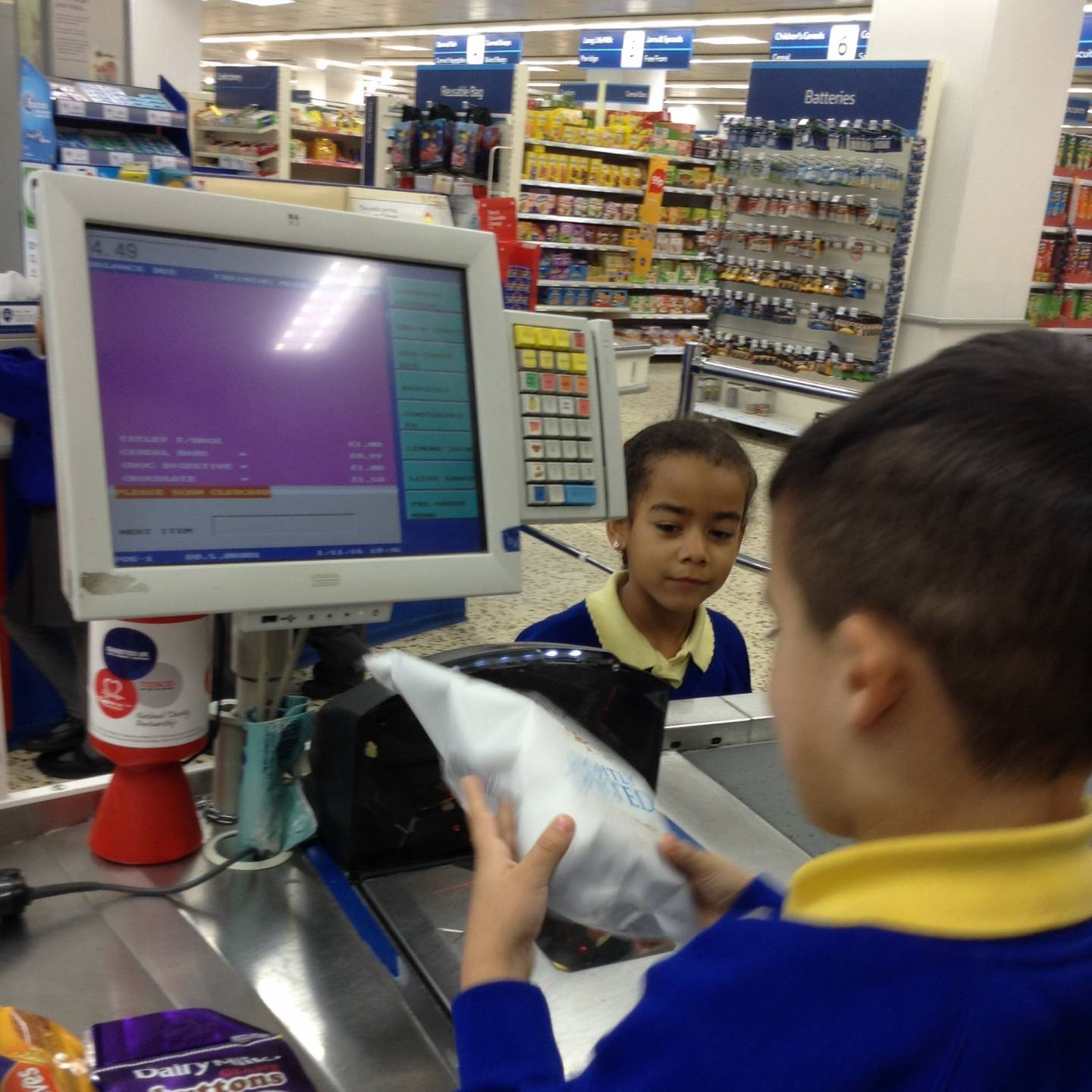 Tesco Checkout 6