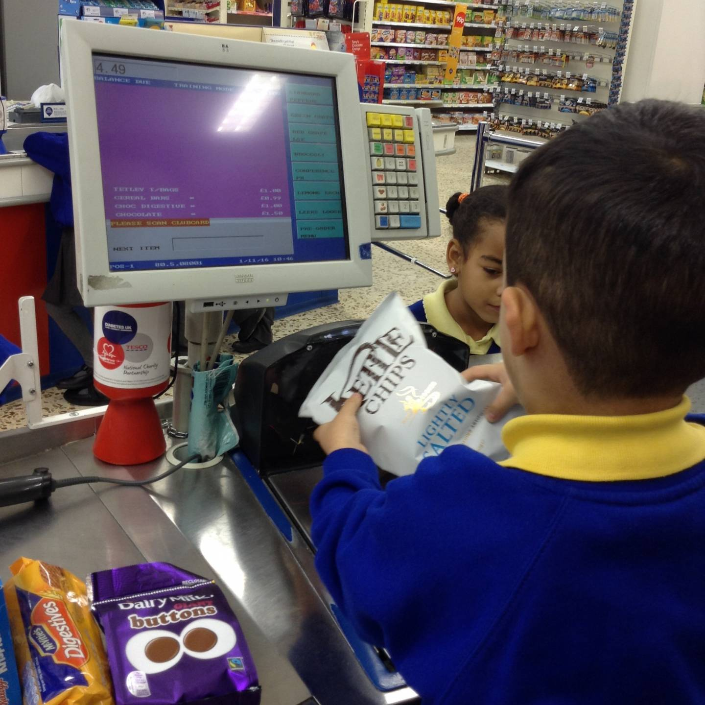 Tesco Checkout